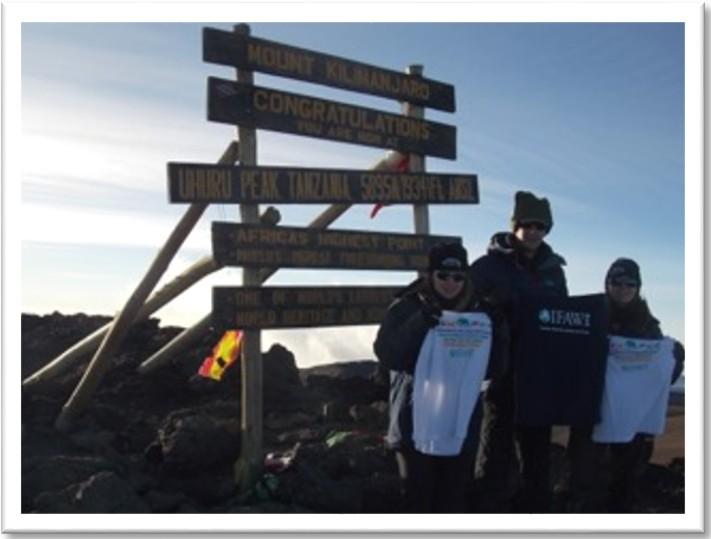 Natalie Barron–UK - Climb KiliClimb Kili